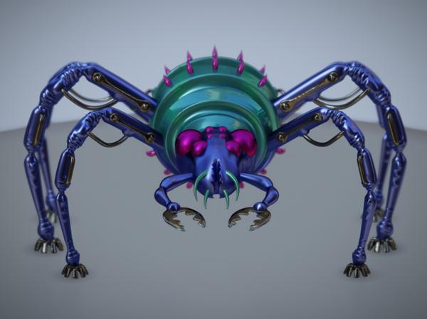 Arachneedle Bioengineered Bug