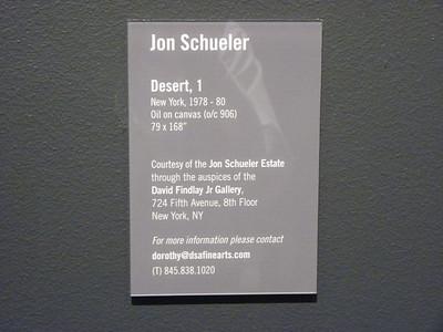 Sep 6 Thu Magda Salvesen's Jon Schueller Opening