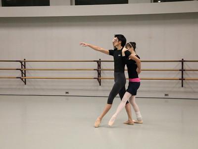 "John Clifford rehearsing ""Serenade"" at the Kirov Academy (video)"