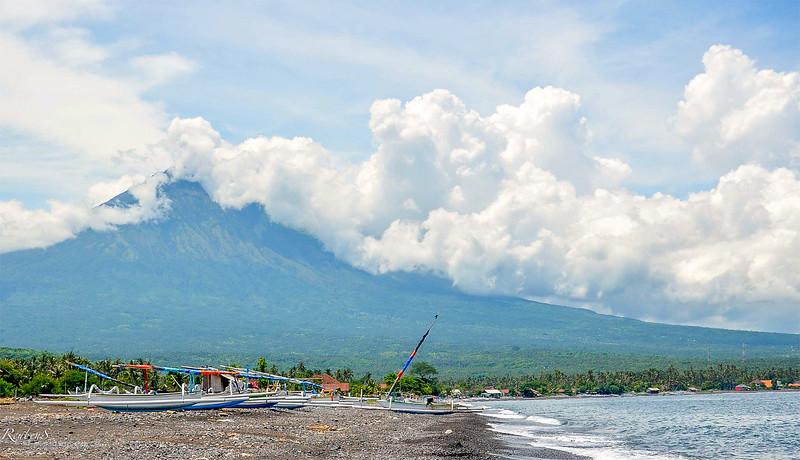 Mount Agung Volcano