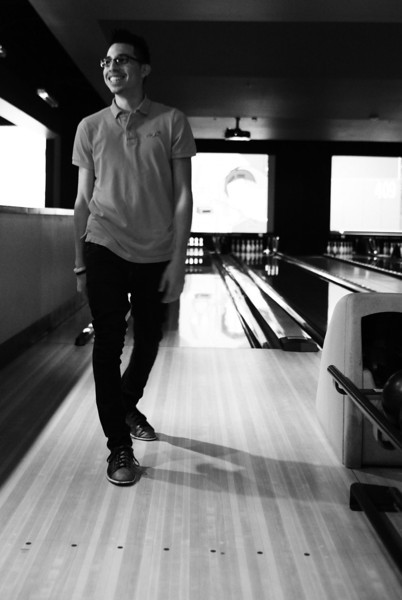 Bowling with Irving