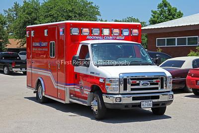 Rockwall  County, TX. EMS