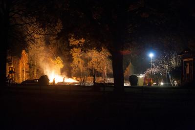 Ladugårdsbrand Gölsjöskruv