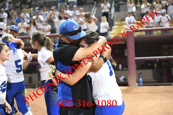 5-14-19 - AIA 2A Final Awards - Benson v Camp Verde - softball
