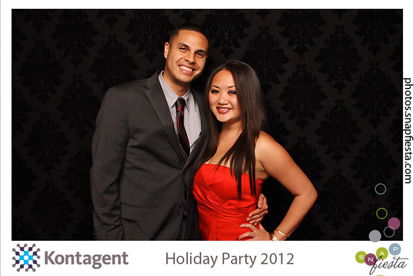 Kontagent 007 Holiday Party @ Hyat Embarcadero 12.13.12