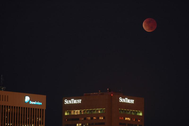 3/3/2007 Eclipse over Richmond