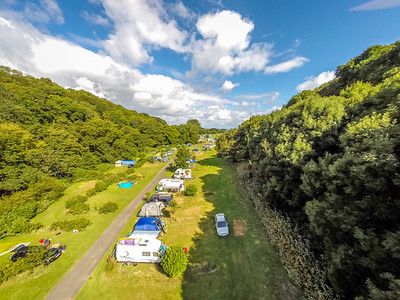 Camping holiday Devon