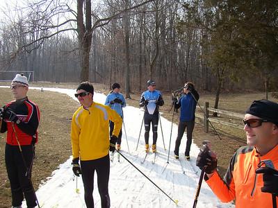 2011 April 2 - On snow skiing at Huron Meadows Metropark