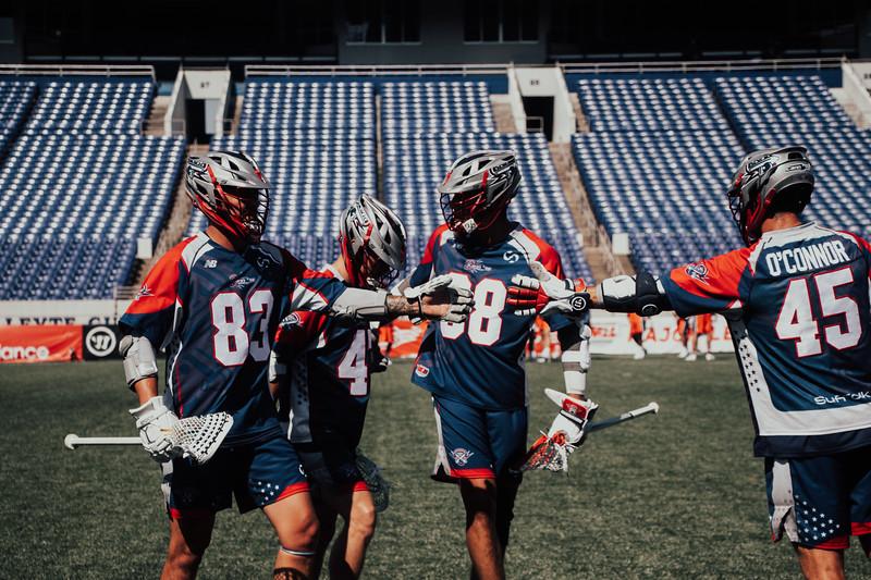 7/21/2020; Annapolis, MD, USA; Barrage vs Cannons - at Navy Marine Corps Memorial Stadium. Mandatory Photography Credit: Jamal Cooley
