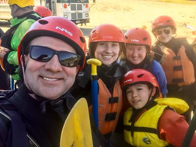 Rafting near Denali
