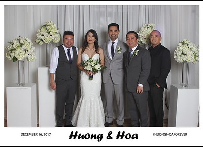 Huong and Hoa's Wedding