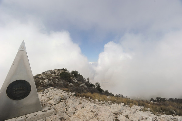2010 Texas highpoint: Guadalupe Peak