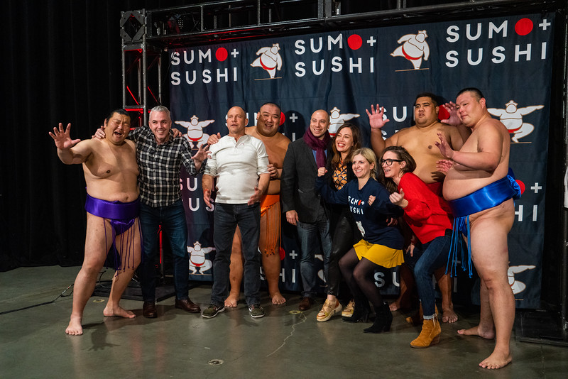 Sumo and Sushi - Seattle 2019