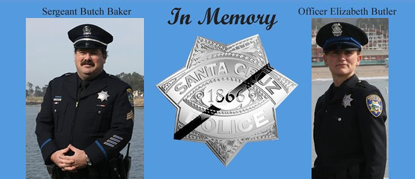 TRIBUTE TO THE FALLEN OFFICERS OF SANTA CRUZ PD  End of Watch-02/26/13