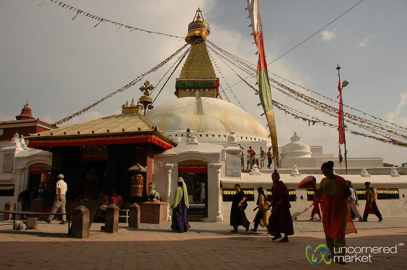 Grand Stupa at Bodhnath, Nepal