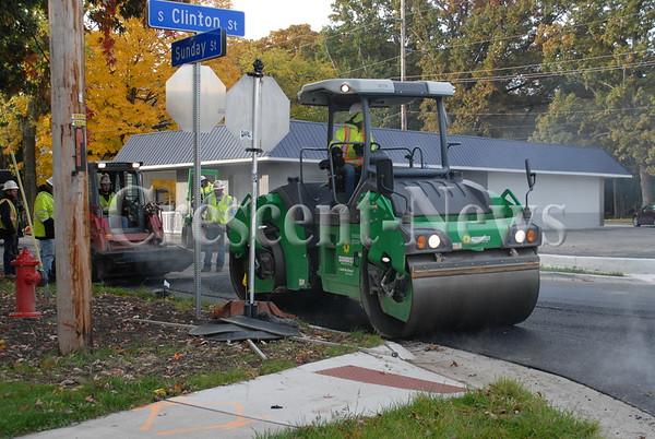 10-31-16 NEWS South clinton roadwork