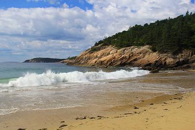 Reflections Of Sand Beach - Acadia National Park