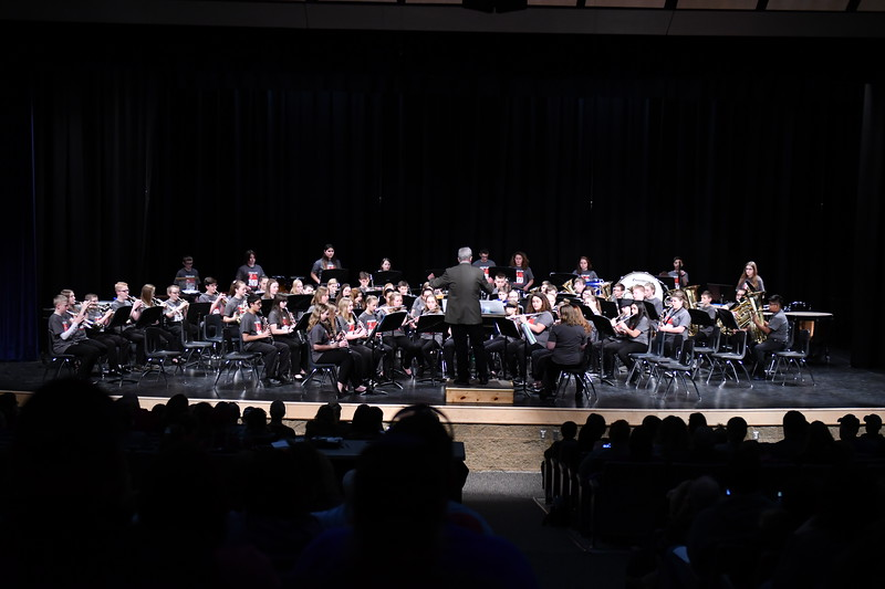 Couleeland Honors Band 2019