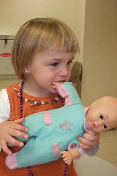 """My eating baby's tingos!"""