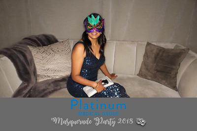 Platinum Medical Group Masquerade Party