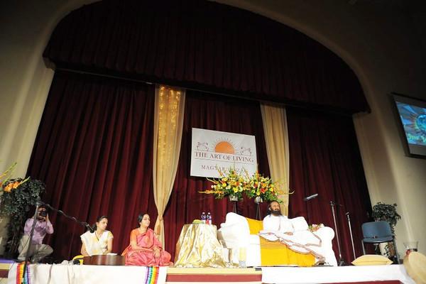 Sri Sri Ravi Shankar in Budapest 2011