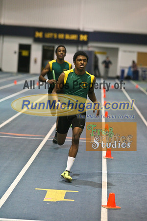 4x400 Relay - January 16 MITS at UM