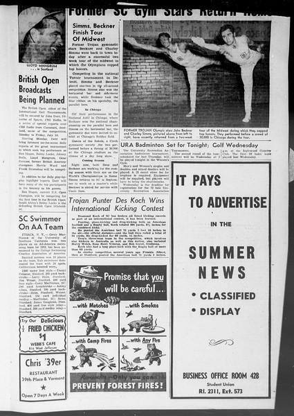 Summer News, Vol. 8, No. 5, July 06, 1953