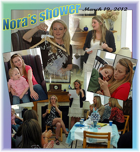 Nora's Shower, March 10, 2012