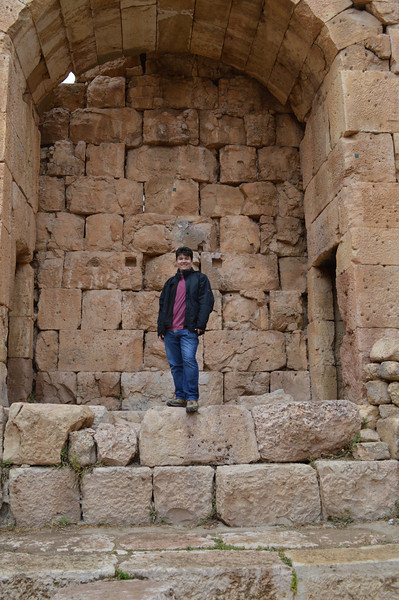 0080_Mike at Jerash Temple of Diana.JPG