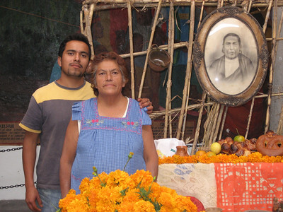 Rosita and Her Family Prepare to Honor Her Grandparents for the Day of the Dead October 2006