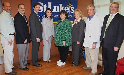 New Infusion Center, St Luke's Hospital, Coaldale (3-15-2012)