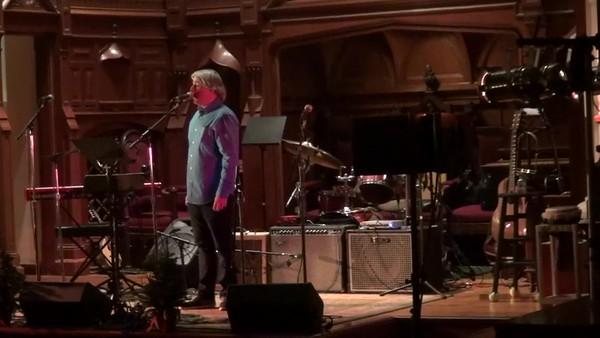 Jack Casey at Singing For Shelter 2017