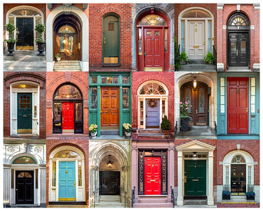 Doors of Boston