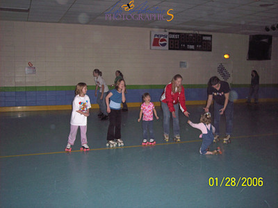 January 28- roller skating