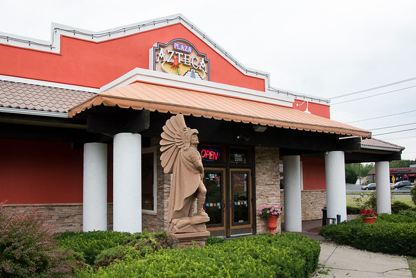 07/02/19 Wesley Bunnell | Staff The restaurant Plaza Azteca in Newington which was the scene of a parking lot shooting at approximately 1 a.m. on Tuesday July 2, 2019.