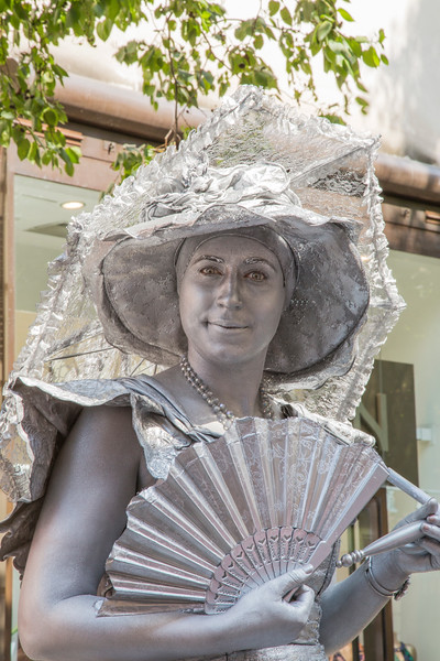 Silver Lady, Covent Garden London