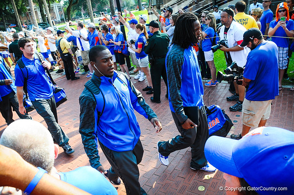 Gator Walk for Toledo Game 8-31-13