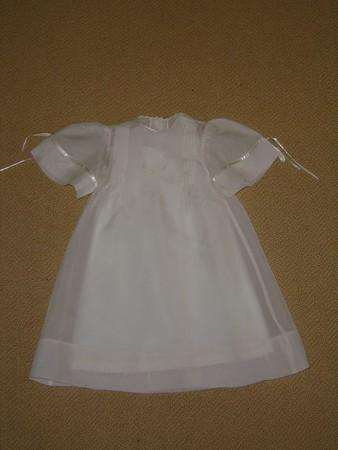 Lindsey's Christening Dress and Bonnet
