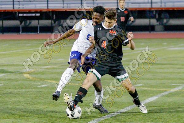 Oliver Ames-Attleboro Boys Soccer - 10-16-18