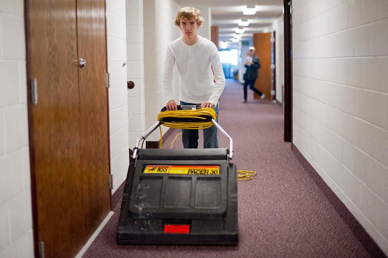 LDS congregations clean buildings
