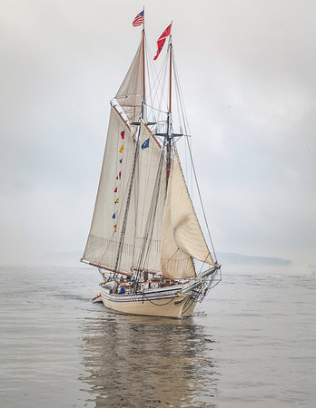 lipper Ship in the Fog