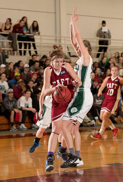 3/4/15: Girls' Varsity Basketball v Deerfield