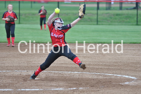 6-5-13 Clinton Softball