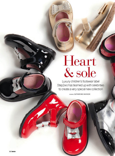 Step2wo and the British Heart Foundation celebrity collection - Rachel Stevens, Charlotte Church and Jasmine Guinness