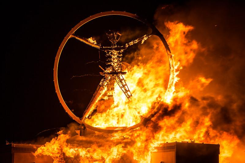 The Man Burning