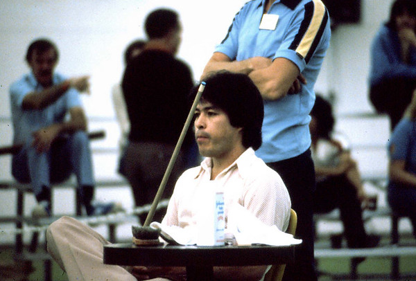 1980 Las Vegas 9-Ball Open - photos by Mike Haines/photo editing by Bill Porter