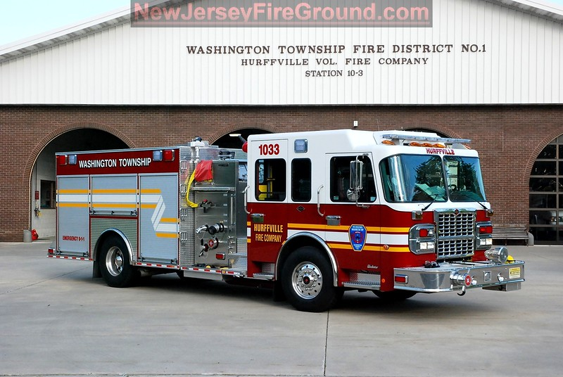 Washington Township Fire District # 1 - Hurffville Volunteer Fire Company - Engine 1033