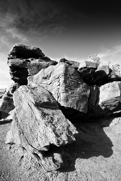 Near Goosenecks at the Capitol Reef National Park, Utah