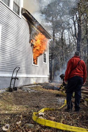 Structure Fire - Electric Ave, Fitchburg, Ma - 3/16/20