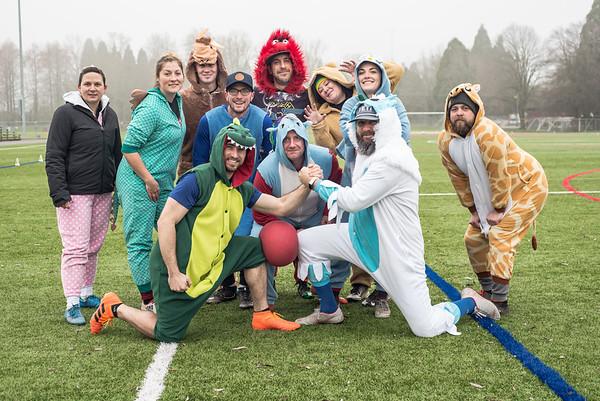 Winter League 2019 Recesstime Portland Kickball